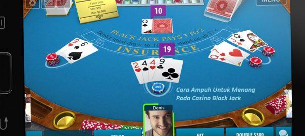 Cara Ampuh Untuk Menang Pada Casino Black Jack